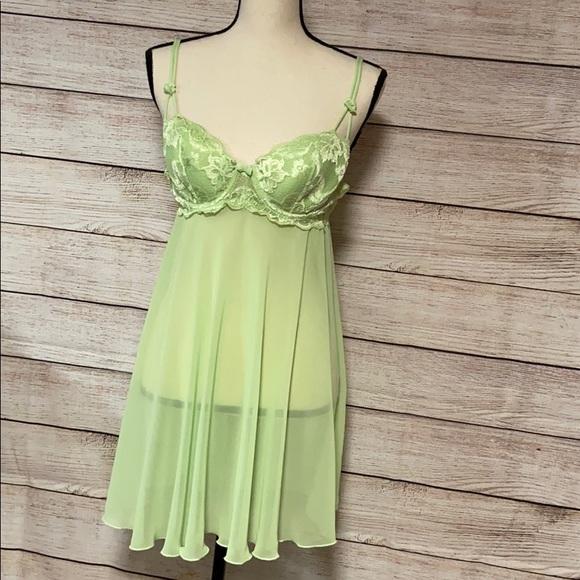 Medium Green Chemise Nightgown Delicates